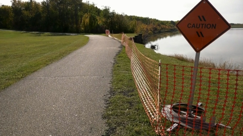 Prince Albert trail loses ground