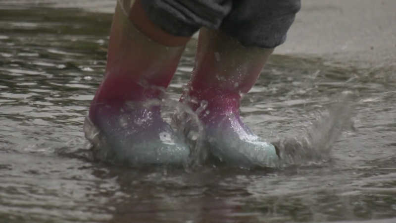 Storm drenches South Coast