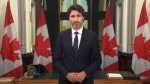 Prime Minister Justin Trudeau addresses the nation, Wednesday, Sept. 23, 2020.