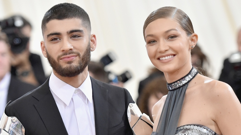 Singer Zayn Malik and model Gigi Hadid are officially new parents. (Getty Images)