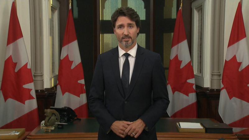 Trudeau address, Sept. 23