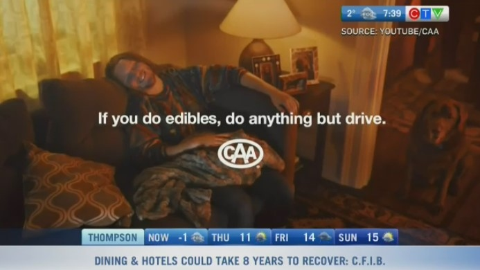 Campaign spotlights risks of driving on edibles