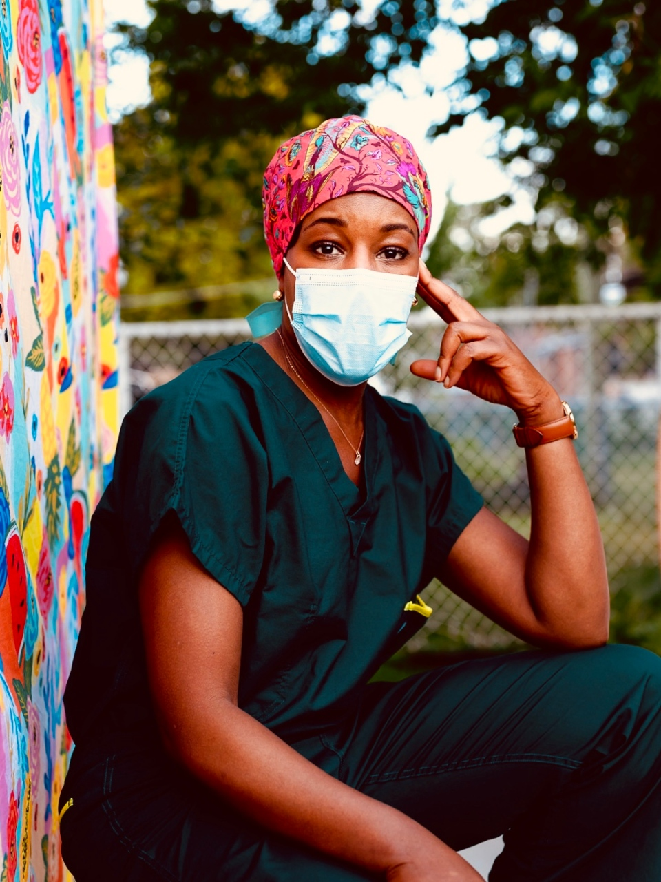 Anesthesiologist Eding Mvilongo feels stereotypes need to change as patients often ask when the doctor will arrive when she introduces herself. SOURCE Karene Isabelle