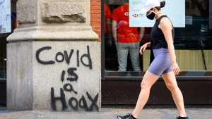 Experts concerned about Canadians consuming COVID-