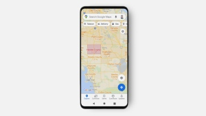 Google Maps will soon show the number of COVID-19 cases. (Google / CNN)