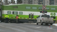Metrolinx, police officials tout rail safety