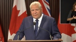 Ont. Premier Ford on new testing guidelines