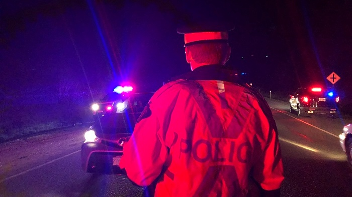 Mounties say the vehicle was stopped along Ocean Boulevard in Colwood, where speeding has grown more common: (West Shore RCMP)