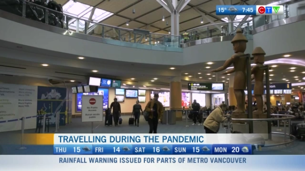 Travelling during the pandemic