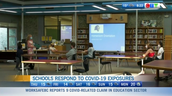 Schools Surrey respond to COVID exposures
