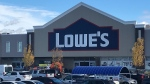 Customers who visited this Lowe's in St. Albert are being asked to monitor for symptoms after an employee tested positive for COVID-19.