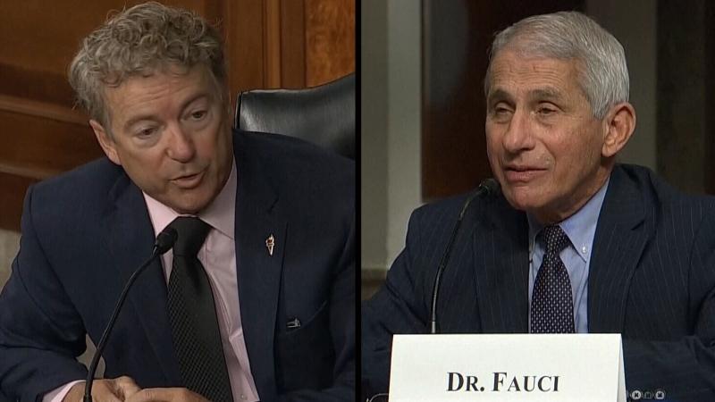 Fauci has tense exchange with Sen. Paul