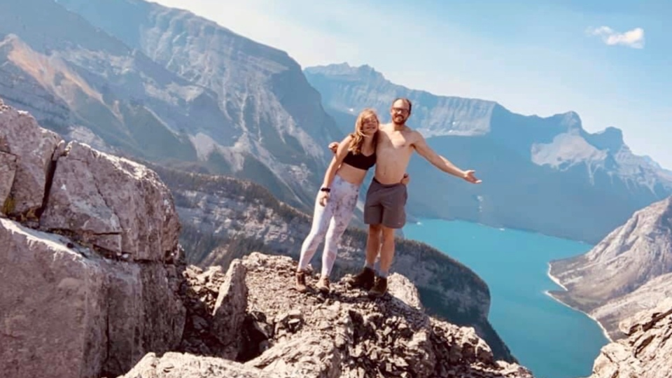 Matthew Kozak and Zabrina Ferrier died in Jasper National Park. (Submitted photo)