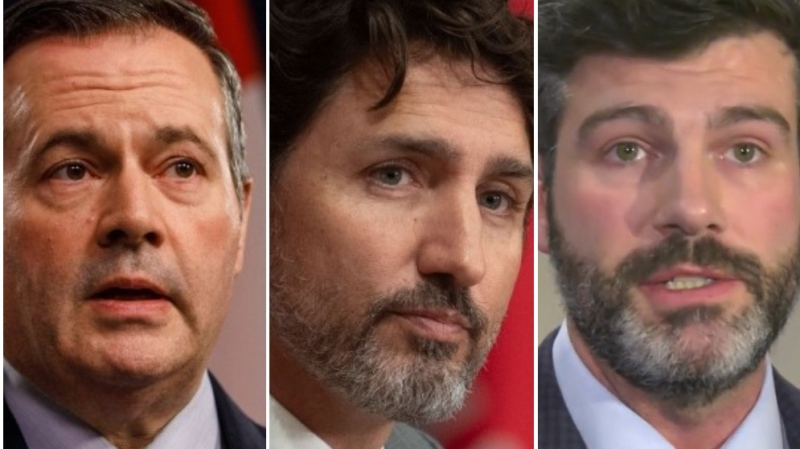 Jason Kenney, Justin Trudeau, Don Iveson