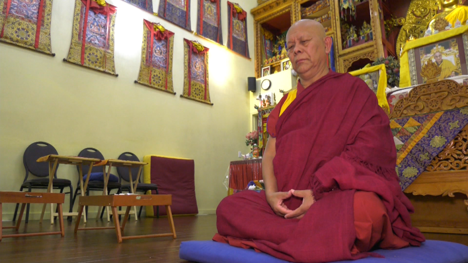 Kushok Lobsang Dhamcho, a Tibetan monk in Edmonton, is sharing the mental health benefits of meditation.