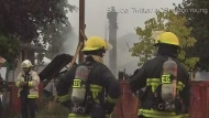 Fire tears through East Vancouver home