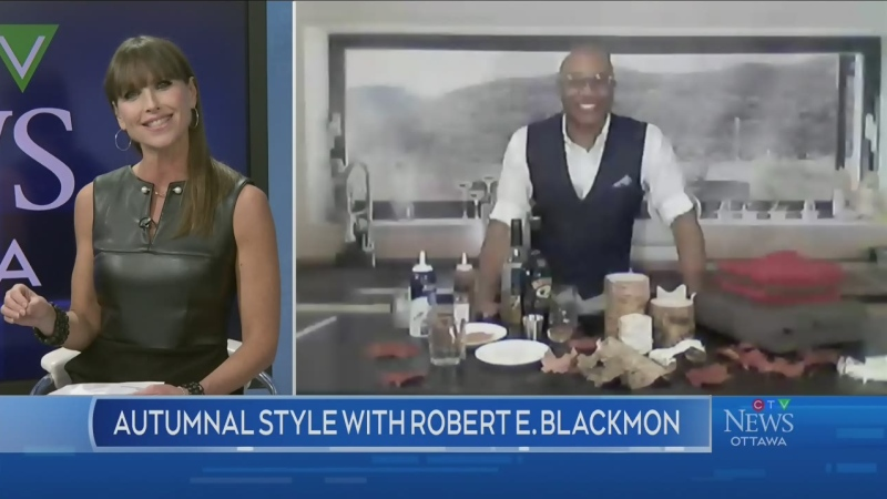 Autumnal style with Robert E. Blackmon, part 1