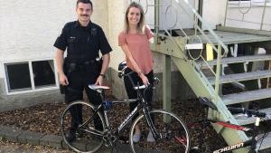 Const. Cody Kendrick and Amanda Rummery. (Source: Edmonton Police Service)