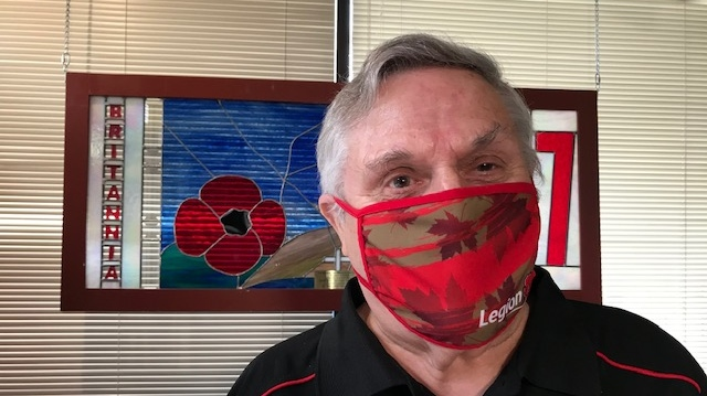 Each face mask purchased supports Canadian veterans. Online sales have been so popular that they're currently sold out, but will restock on Sept. 28: (CTV News)