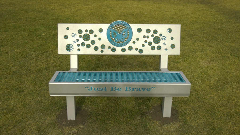 Bench for Julie Burke