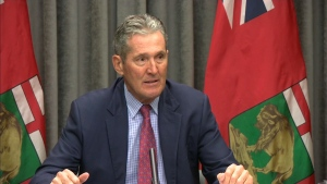 Pallister reacts to throne speech