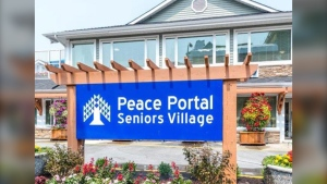 Peace Portal Seniors Village is seen in this photo from the facility's website.