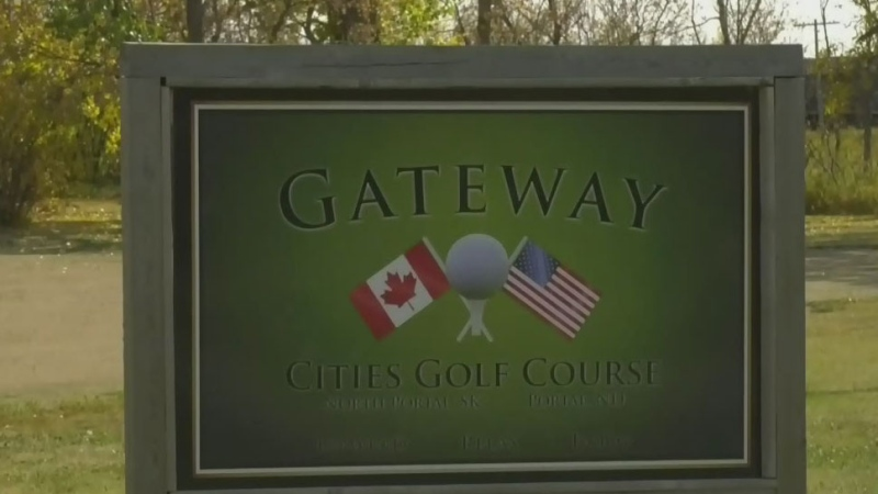 Sask. golf course on U.S. border alters grounds