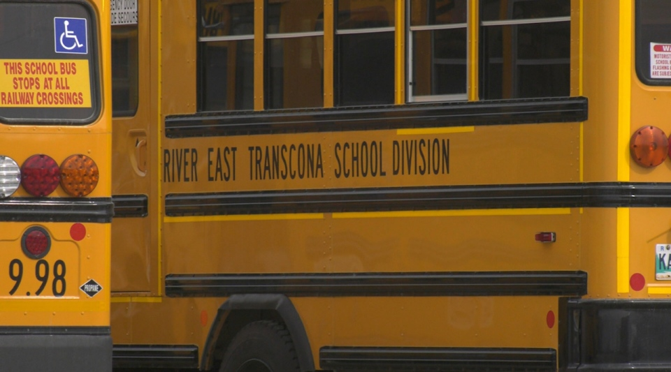 River East Transcona School Division. (Source: Josh Crabb/ CTV News Winnipeg)