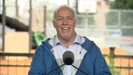 Disruption at NDP campaign stop