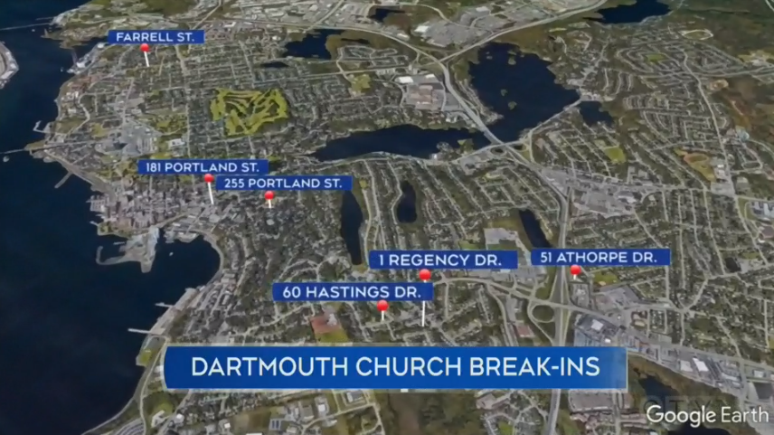 Dartmouth churches