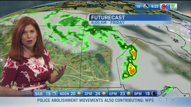 CTV Morning Live Weather Update for September 25