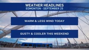 Sept. 25 weather headlines