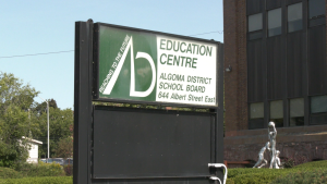 Algoma District School Board Education Centre. Sept. 24/20 (Jairus Patterson/CTV Northern Ontario)