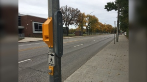 n total, the city installed audible cues at 670 signalized intersections. (Source: Zachary Kitchen/CTV News)