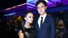 Billie Lourd and Austen Rydell are the parents of a newborn baby boy. (Credit: Tommaso Boddi / Getty Images for LACMA)