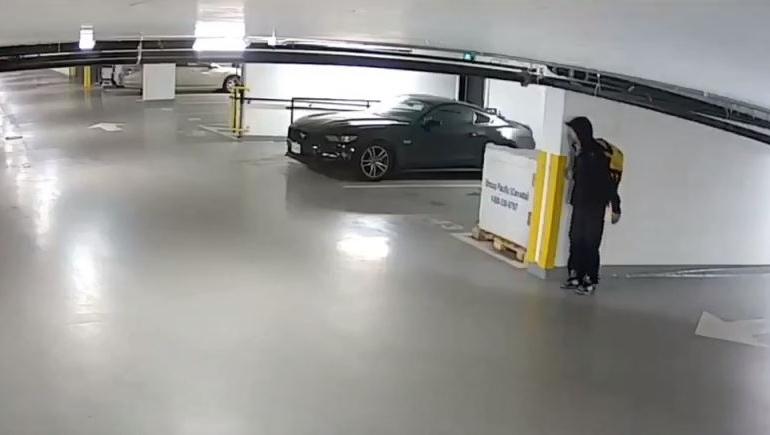 parkade theft