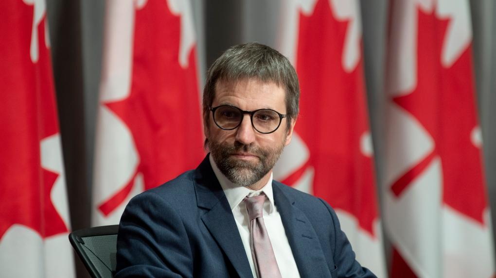 Canadian Heritage Minister Steven Guilbeault