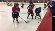 As minor hockey players in Glace Bay, N.S., are stepping on the ice for the first time since mid-March, the rules and regulations between the boards are the same, but much has changed off the ice since the pandemic hit.