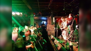 The Real McKenzies play a show at Dickens. Live music is set to return to the popular venue on Oct. 3. (Dickens/Facebook)