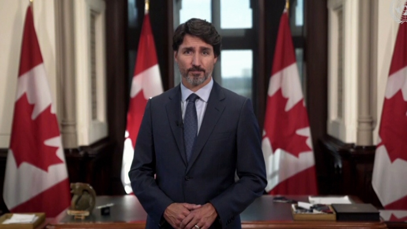 Trudeau speaks to UN about COVID-19 pandemic