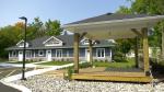 A new 11 unit affordable housing complex opens on Jack Street in Kemptville. (Nate Vandermeer/CTV News Ottawa)