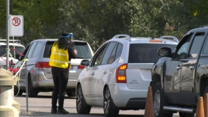 Calypso parking lot opened as COVID testing site