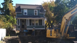 This 98-year-old Edmonton home is getting a new lease on life with a new foundation.