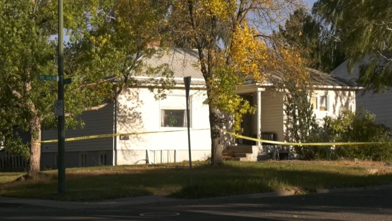 Lethbridge police say a number of improvised explosive devices were found inside a home that was the centre of a drug investigation Thursday.