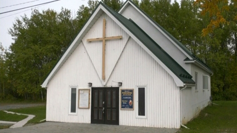 Timmins church selling its pews