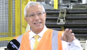 Nipissing MPP Vic Fedeli announced Friday the province is giving $2.5 million to help local manufacturing businesses expand. The money is coming through the Northern Ontario Heritage Fund. (Eric Taschner/CTV News)