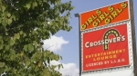 Crossovers Entertainment on Dunlop Street in Barrie, Ont. (Craig Momney/CTV News)