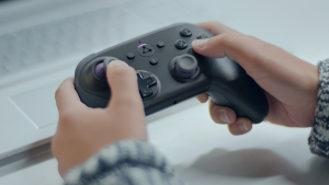 Luna is both software and an optional $49.99 physical controller that can connect to a Fire TV, PC, Mac and mobile devices. (Amazon)