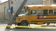 School bus carrying children involved in crash