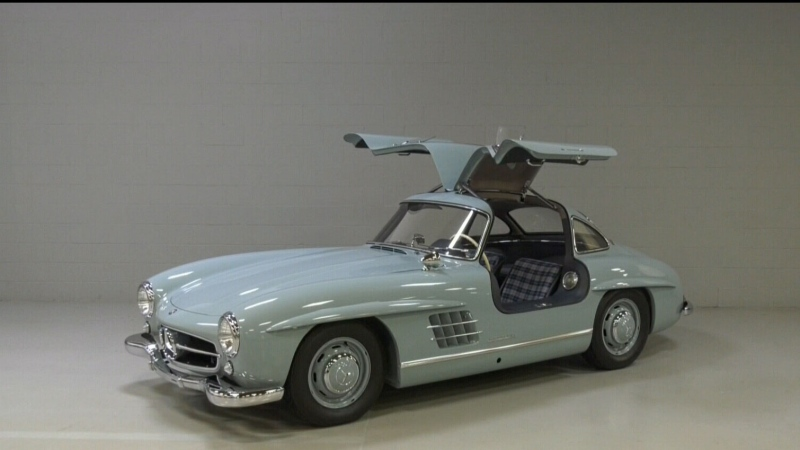 1967 Mercedes sells for $1.5M on Vancouver Island